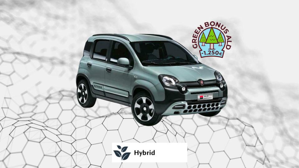 FIAT Panda Hybrid – 221€ al mese