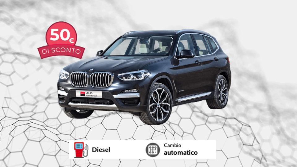 BMW X3 – 580€ al mese