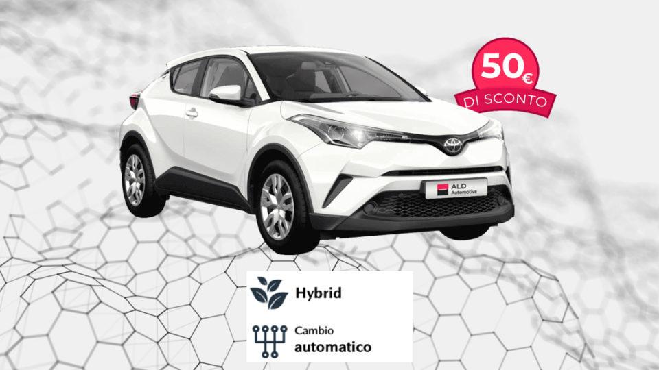 TOYOTA C-HR Hybrid – 348€ al mese