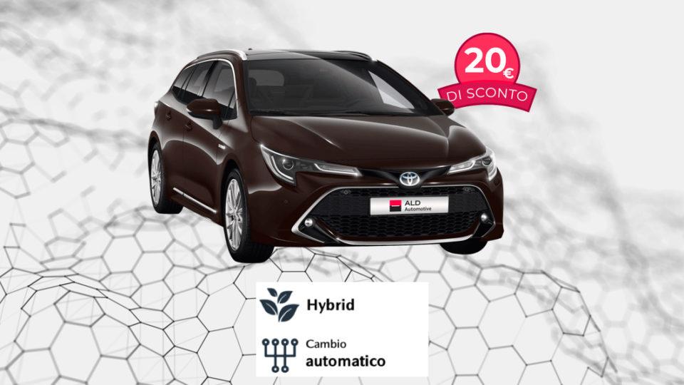 TOYOTA Corolla TS Hybrid – 290€ al mese