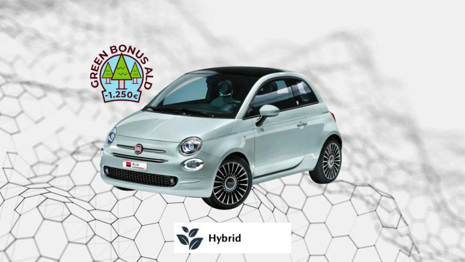 FIAT 500 Hybrid – 279€ al mese