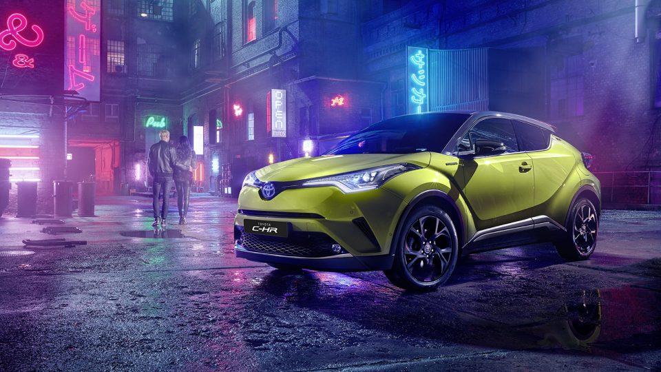 TOYOTA C-HR Hybrid – 469€ al mese