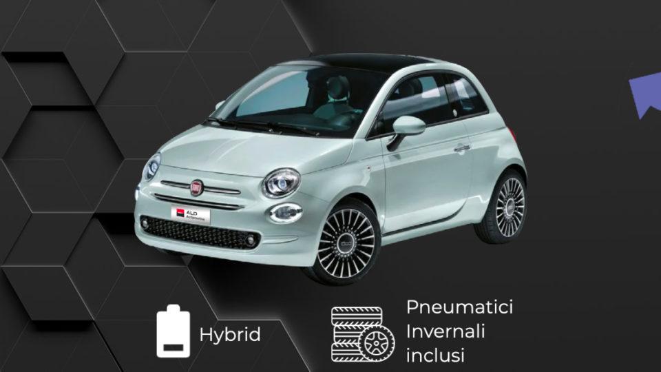 FIAT 500 Hybrid – 199€ al mese