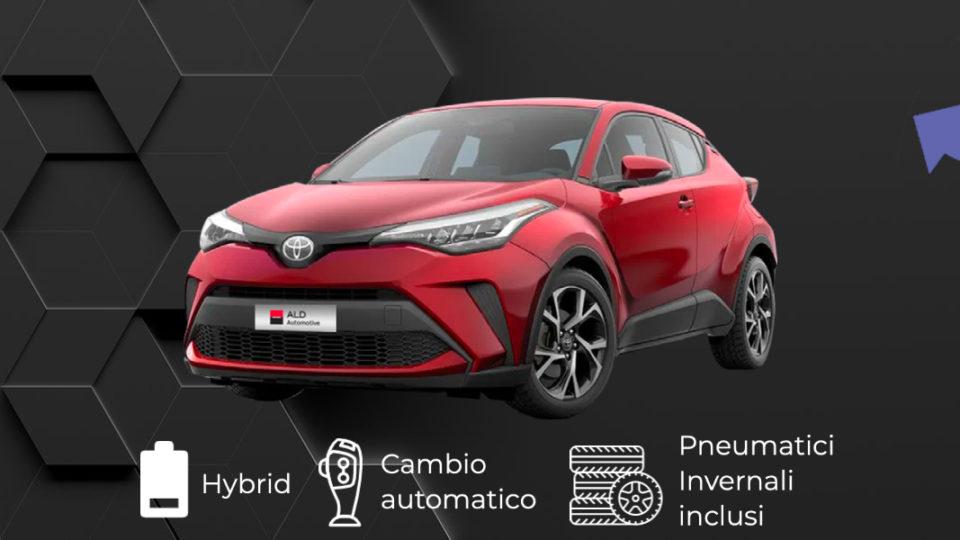 TOYOTA C-HR Hybrid – 316€ al mese