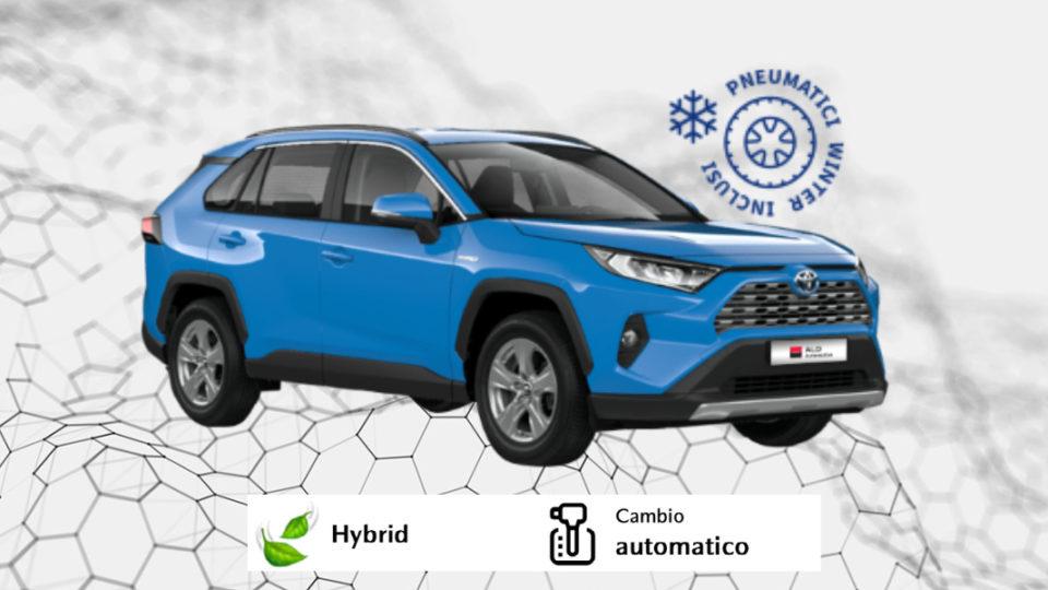 TOYOTA RAV4 Hybrid – 430€ al mese